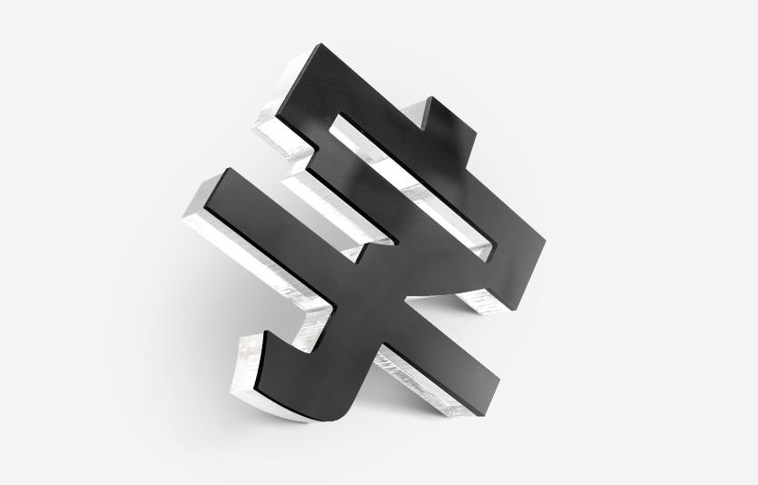 亚克力字_亚克力水晶字具有导光性强,有水晶之感且具有特殊的颜色饱和度