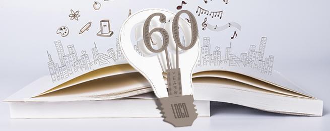 灯泡立体造型手工设计名片