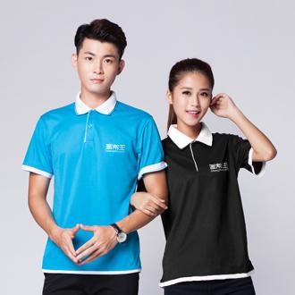 韩版双领POLO衫制作