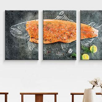 餐厅挂画印刷