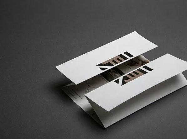 八张超有趣的折页设计欣赏,简约极致的美