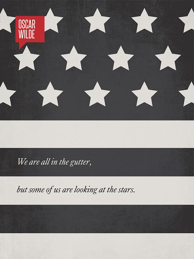 名言警句,8款极简主义海报设计图片