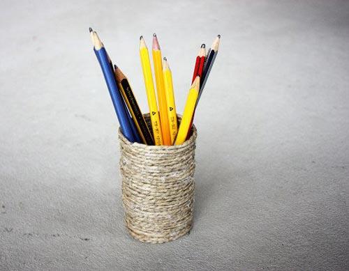 创意手工制作笔筒欣赏,不一样的小心思