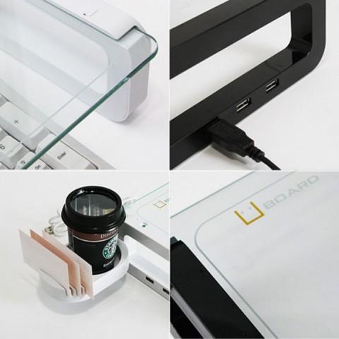 U-Board 多功能的笔记本支架