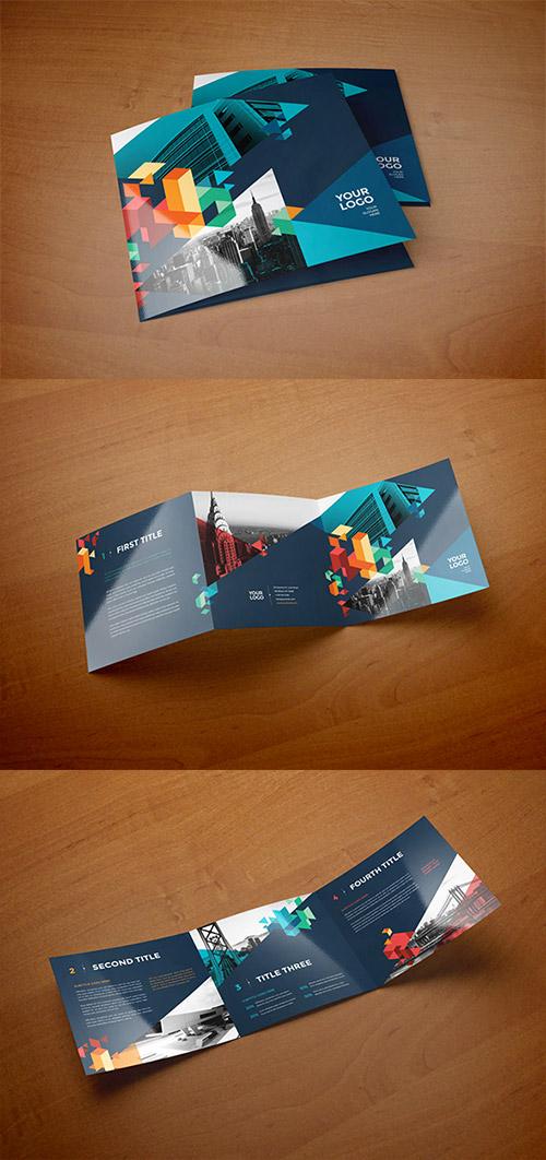 30款国外三折页画册设计欣赏