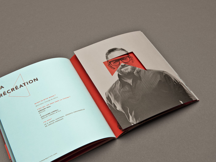 Maison剧场画册设计