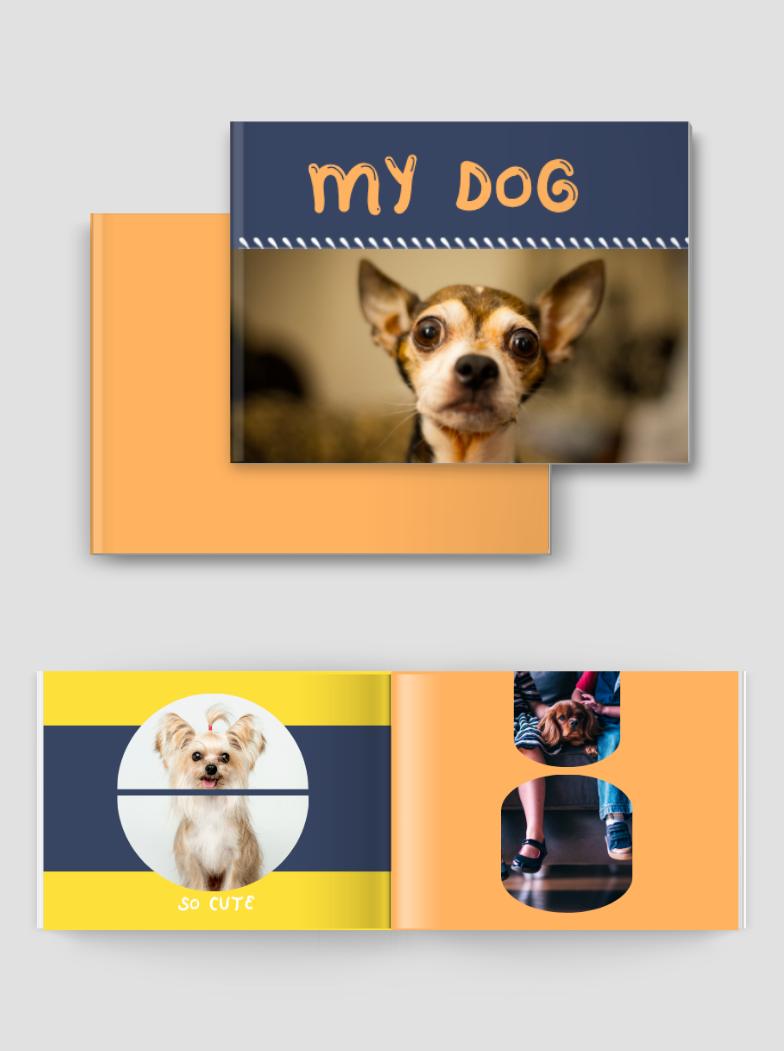 我家狗狗相册书