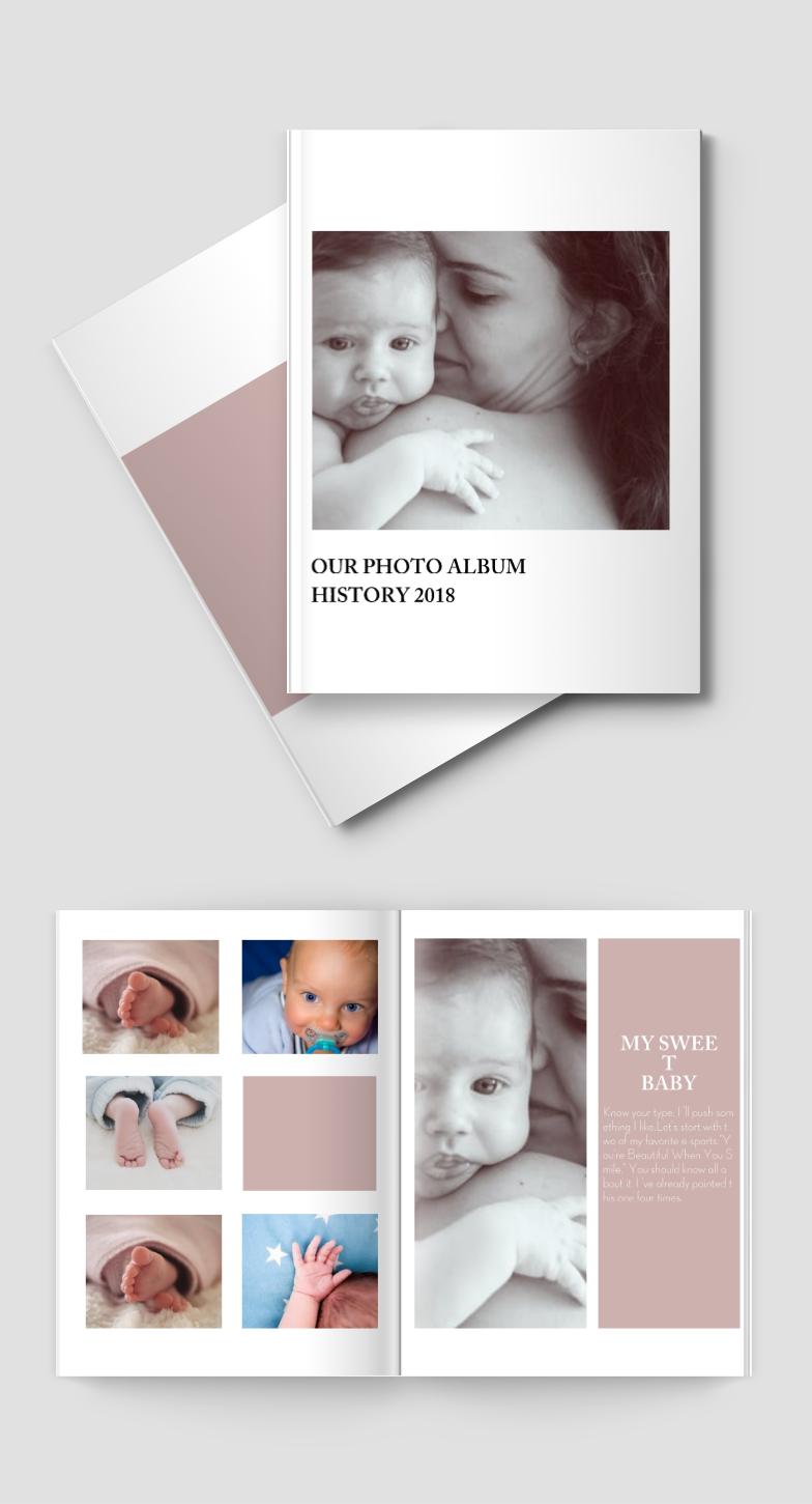 母婴幼儿儿童相册书