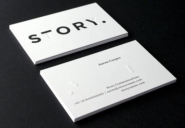 12款极简主义名片设计图片,一起来欣赏一下吧