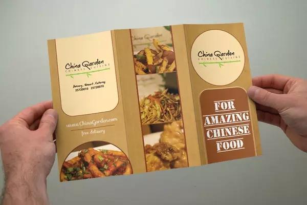 宣传单设计 for amazing chinese food