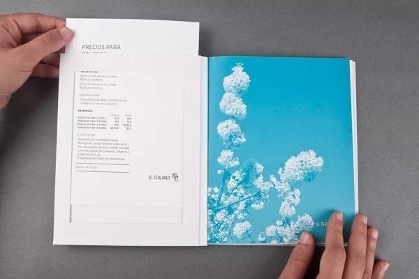 企业画册 蓝色