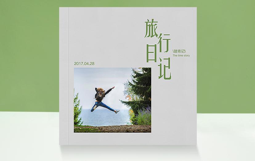 软皮胶装相册书,一本让人舒服的相册书