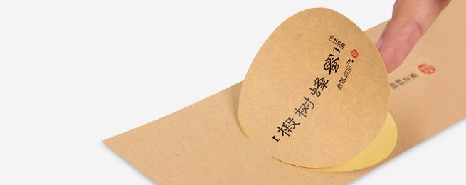 不干胶印刷贴纸的具体结构及材料构成