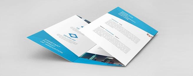 折页印刷的高效和细节的重要性