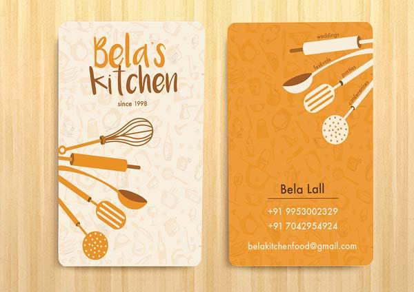 名片设计欣赏|6张好看的餐饮行业的名片设计欣赏