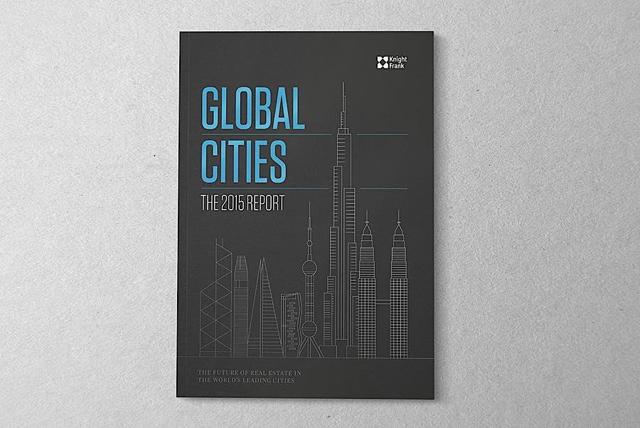 Global Cities Report画册设计欣赏