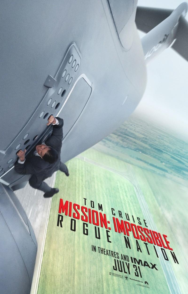 影片海报欣赏:碟中谍5:神秘国度(Mission: Impossible - Rogue Nation)