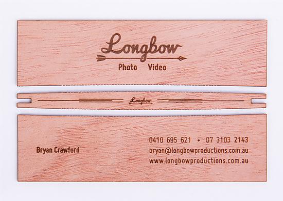 名片一秒变弓箭:Longbow创意名片设计