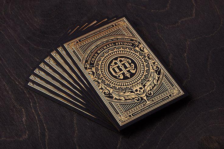 时尚前卫的名片和商业卡片设计