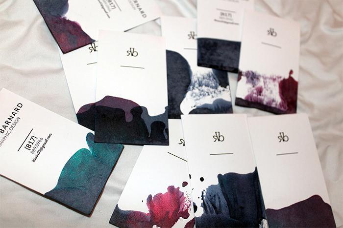 名片印刷的巧妙设计,印刷名片要注重版面设计