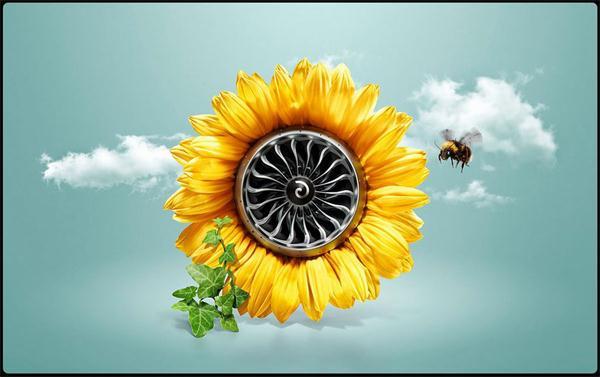 3张好看的创意绿色环保海报设计欣赏
