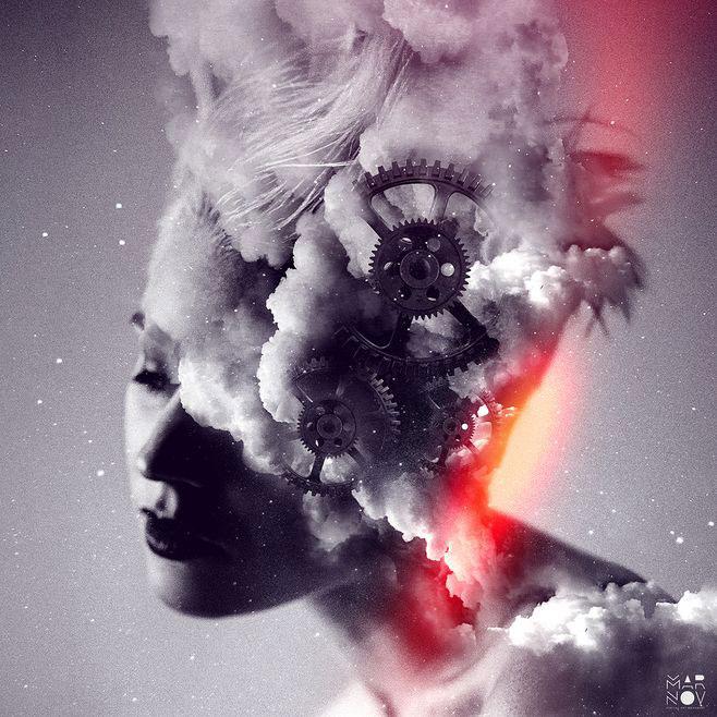 6张烟雾元素海报设计欣赏