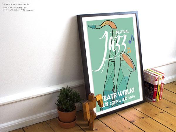 插画式音乐会海报