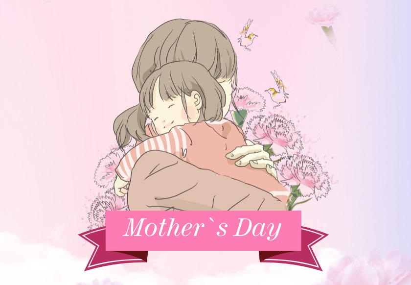 无处不在的妈妈的爱