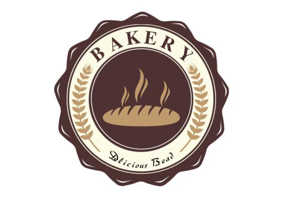 美味蛋糕面包不干胶贴素材